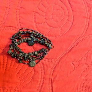 Green Multi-layer Bracelet